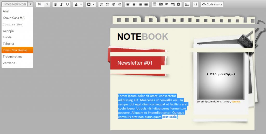 notebook sarbacane